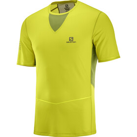 Salomon Sense Ultra Tee Herr citronelle/avocado